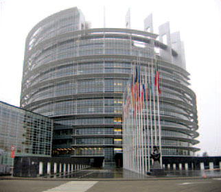 EU Building in Strasbourg